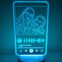 Lampada Led Personalizzata Spotify