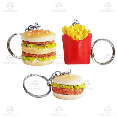 Portachiavi Fast Food